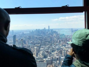 Empire State Building. 80th Floor. Vivacious Views