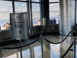Empire State Building. Exit. Vivacious Views