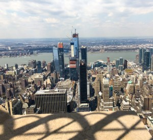 Empire State Building. Madison Square Garden. Vivacious Views