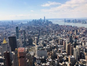 Empire State Building. One World Trade View. Vivacious Views