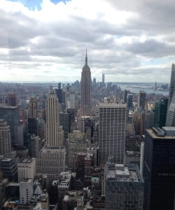 Top of the Rock. Empire State Building. Vivacious Views