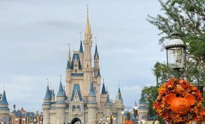 Halloween and Fall Favorites at Disney World. Cinderella Castle. Vivacious Views