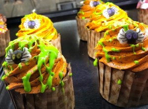 Halloween and Fall Favorites at Disney World. Spider Cupcake. Vivacious Views