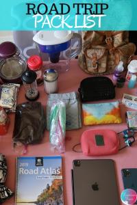 Road Trip Pack List