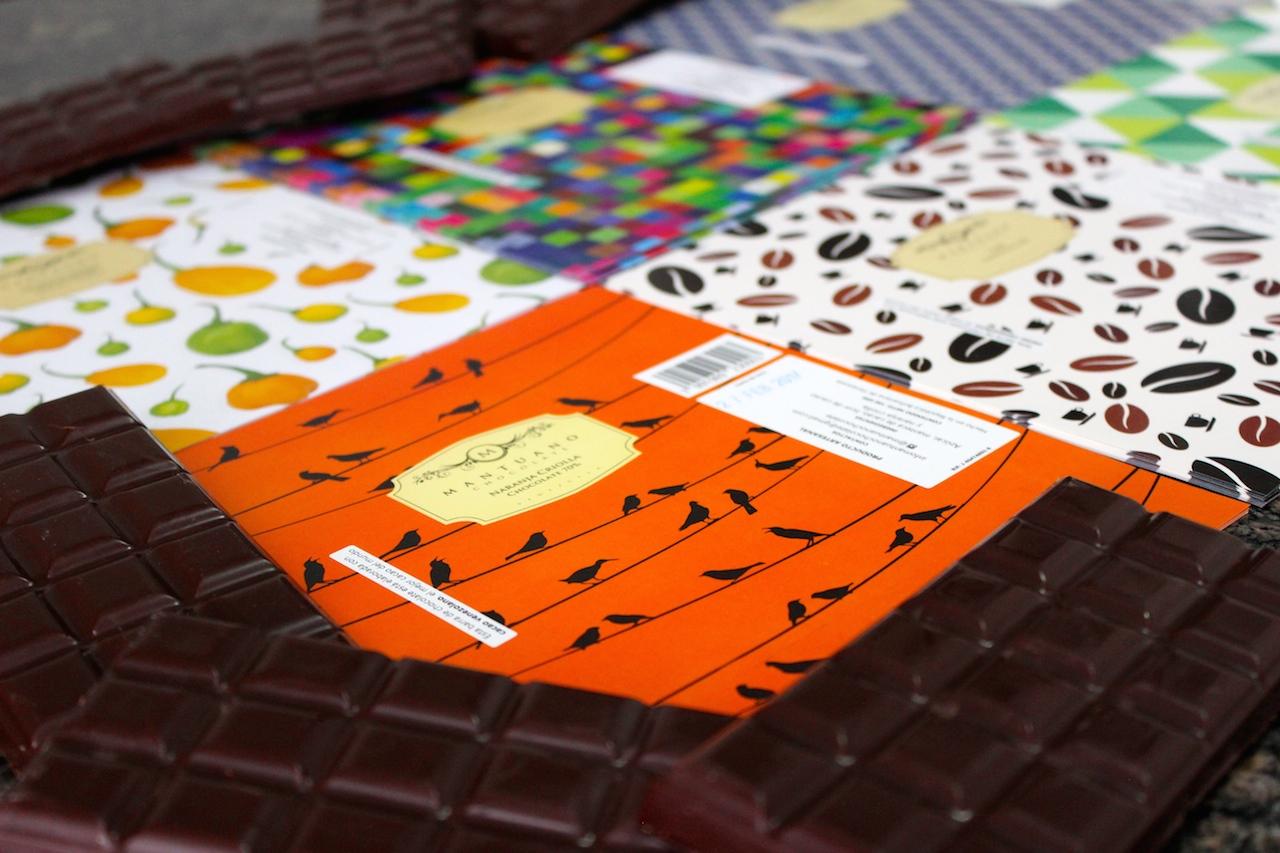 Mantuano Chocolates y sus creativos empaques