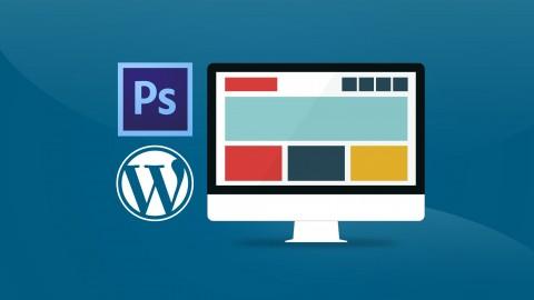 Experto de Photoshop a WordPress creando 4 Temas / Plantillas