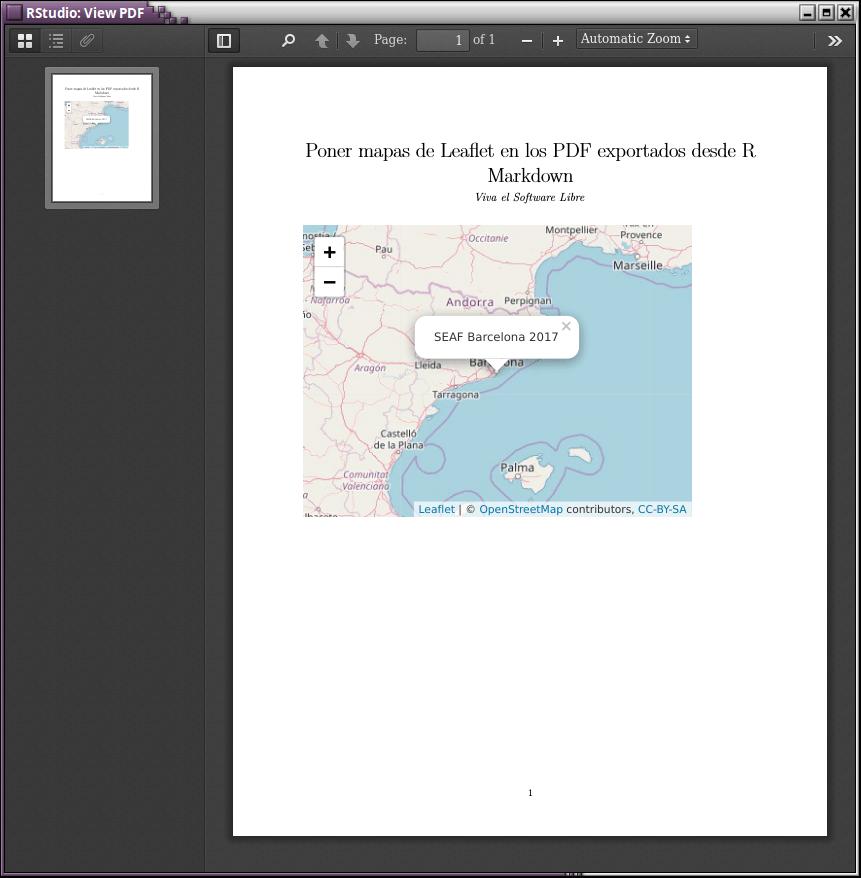 Poner mapas de Leaflet en los PDF exportados desde R Markdown