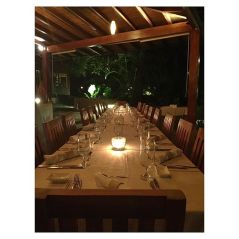 Dinner Table Set for Cufitra Retreat