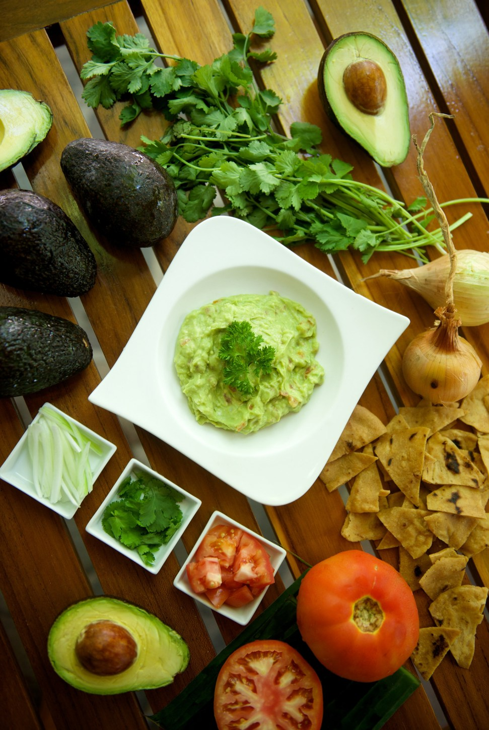 Simple Fresh Guacamole from Nectar's