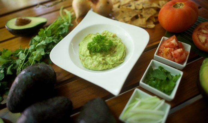 Guacamole with Local, Fresh Ingredients
