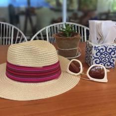 Mano y Tigre Straw Hat