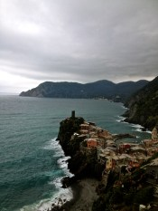 Seeing Vernazza.