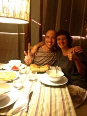 New friends in Spain.