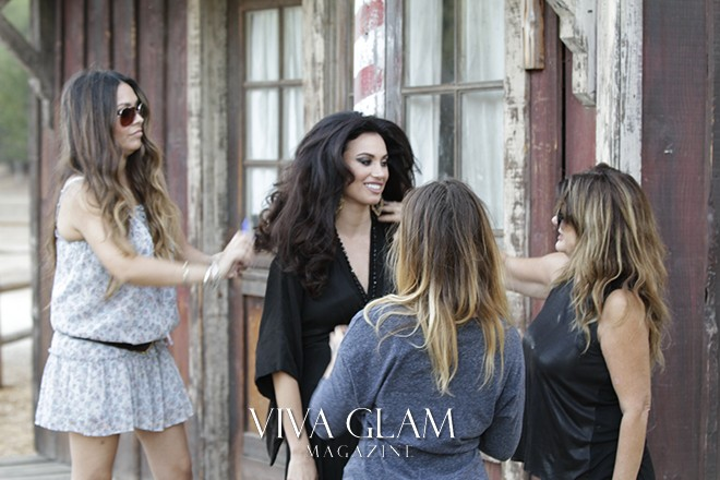 Behind the Scenes with Glamarella Couture's Movie Star Campaign
