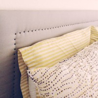 DIY: Upholstered Headboard