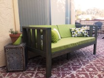 DIY Outdoor Patio Sofa