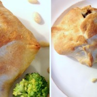 Easy Chicken Envelopes with Mushrooms and Cheese