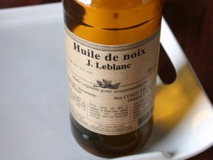 J LeBlanc Walnut Oil