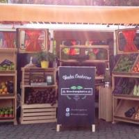No estilo food truck, Komborgânica leva alimentos orgânicos até a porta da sua casa