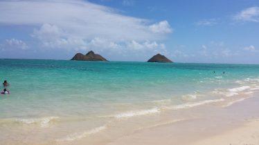 Lanikai and Mokulua islands