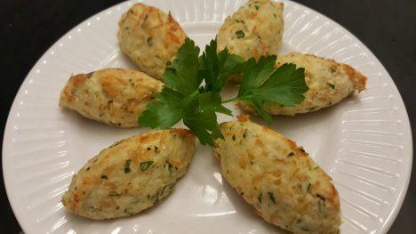 Baked Codfish Cakes | Bolinhos de Bacalhau Assados