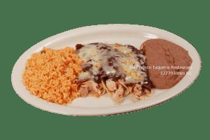 Enchiladas Poblanas - Viva Jalisco Restaurant