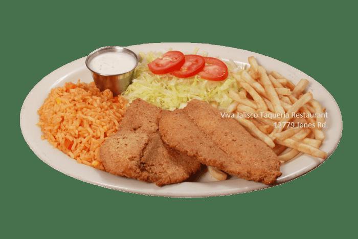 Filete Empanizado - Viva Jalisco Restaurant