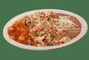 Machacado con Huevos - Viva Jalisco Restaurant
