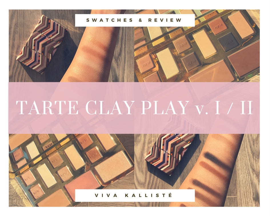 SWATCHES & REVIEW: TARTE CLAY PLAY VOLUME II PALETTE! IS IT WORTH IT?