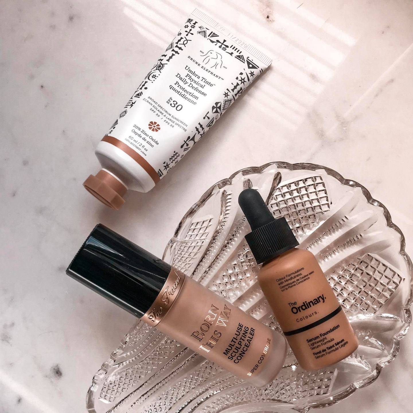 concealer and foundations
