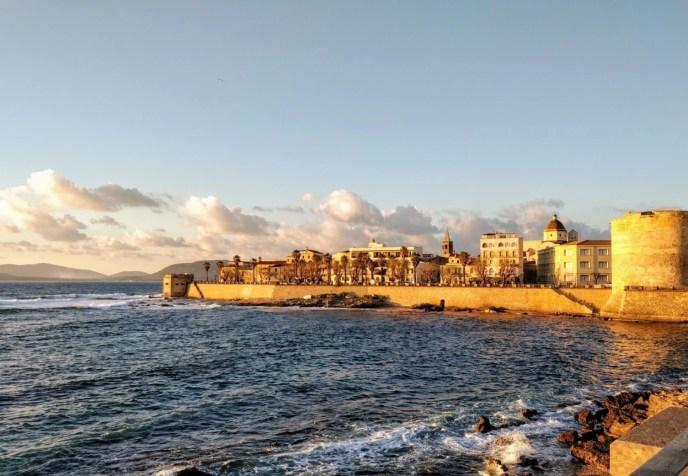 Alghero sea front