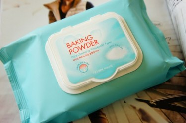 Etude House Baking Powder Pore Cleansing Tissues (Oil Type) Review
