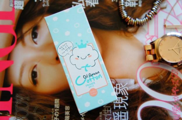 Korean Makeup Holika Holika Oil Queen Cotton Primer