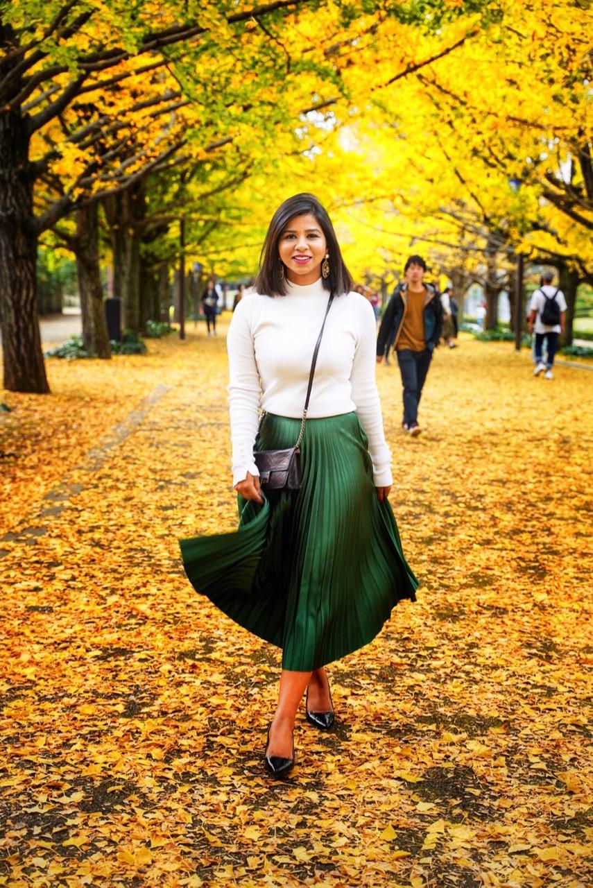 autumn season in Japan