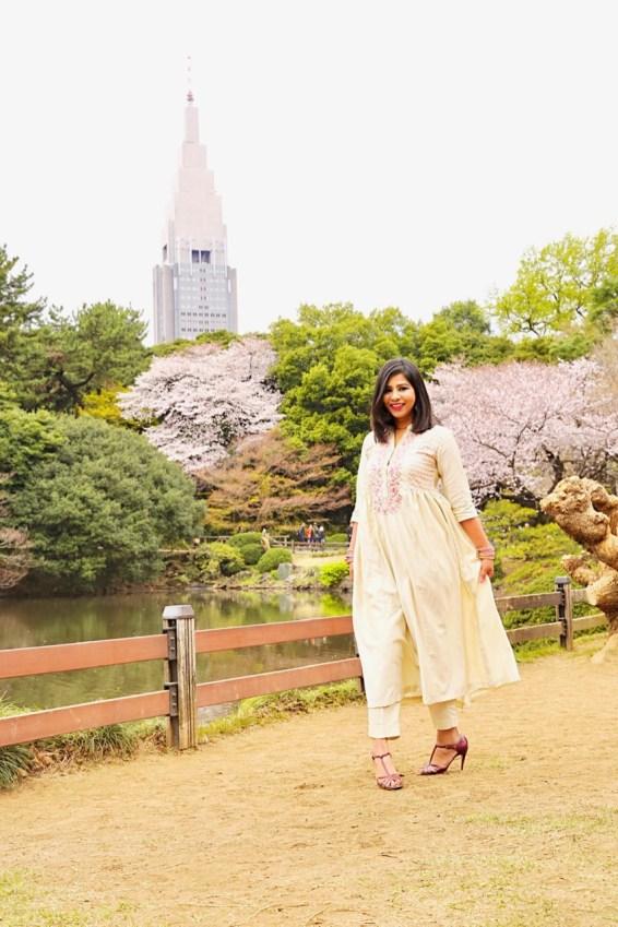 Shinjuku Park - cherry blossom