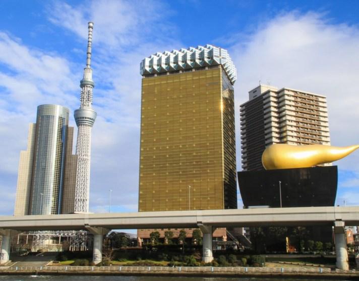 Asahi Beer Tower, Asakusa Tokyo
