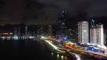 Panama City, Roof top view