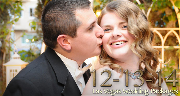 12-13-14 Las Vegas Traditional Wedding Packages