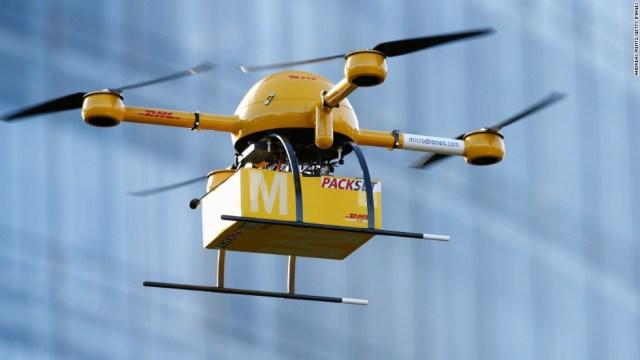 drone mensajero