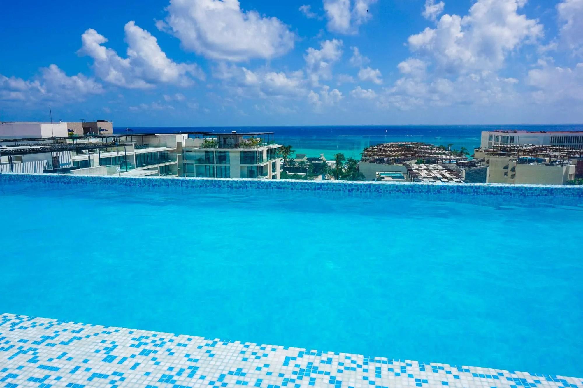 The Best Rooftop Pools in Playa del Carmen to Visit in 2021