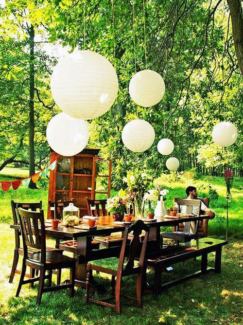 Boho Chic Dinner Table