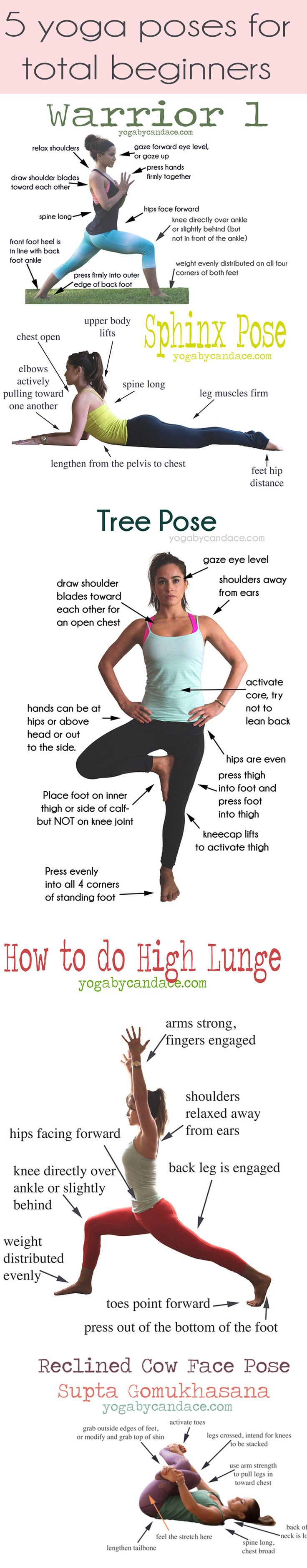 5 yoga poses for beginners