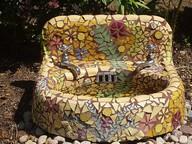 mosaic sink birdbath