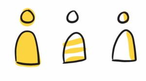 visuele-bouwsteen-kleur-zakelijk-tekenen-sketchnotes- manieren van inkleuren