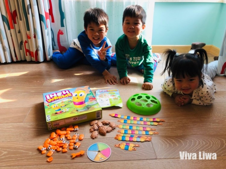 蟲蟲量身高:2歲就能建立測量的概念,趣味十足 小康軒數學桌遊