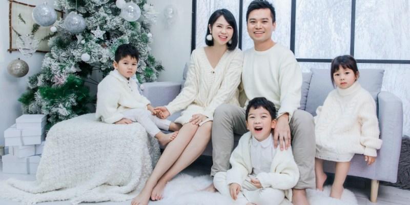 龍鳳3歲紀念與結婚9週年全家福 上海Queen's Baby
