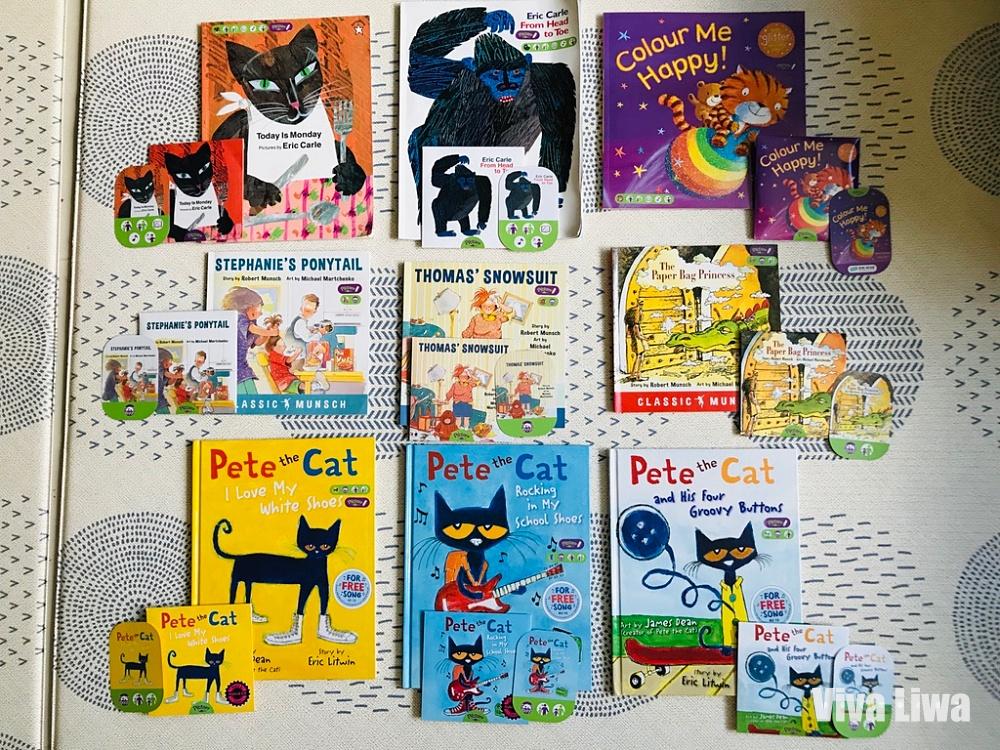 有聲書 英文繪本 9本Pictory英文經典點讀繪本介紹 KidsRead點讀筆