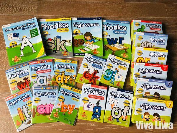 【書櫃】讓孩子完全掌握「進階自然發音&常見字」奠定自行閱讀基礎就靠它!(進階篇)|Preschool Prep