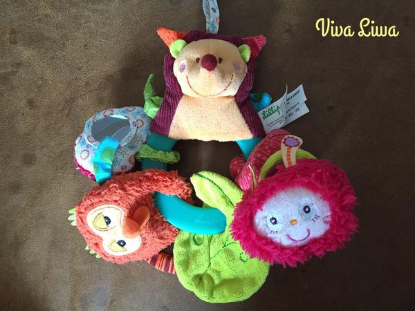 [育兒] 寶寶玩具其實是買給媽媽玩的-Lilliputiens力力布丁比利時創意啟蒙布玩
