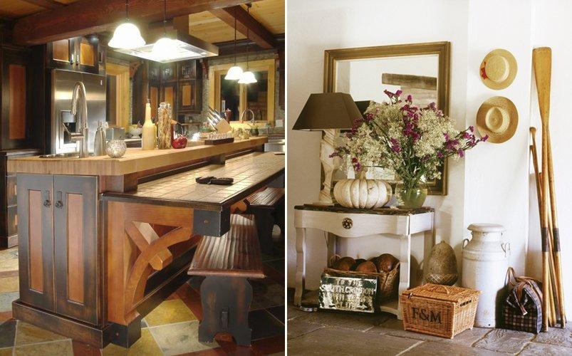 Mveis rsticos para uma decorao moderna e charmosa